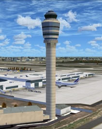 Hartsfield-Jackson Atlanta International Airport - ATL control tower
